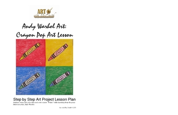 Andy Warhol Art: Crayon Pop Art Lesson