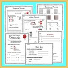Andy the Decimal Printables - Teaching Students Decimal Pl