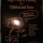 Anger Control Training for Children and Teens