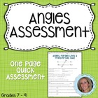 Angles Assessment
