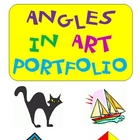 Angles in Art Portfolio ~ Use a Protractor