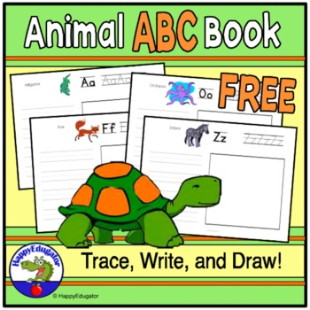 Animal ABC Book for Free - Blank
