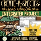 Animal Adaptations/Habitats Activity & Project (Integrates