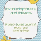 Animal Adaptations and Habitats: Project Based Learning