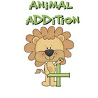 Animal Addition and Subtraction Mini Unit Bundle:  Basic O