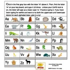 Animal Alphabet Typing Activity for Grades K-3