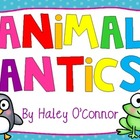 Animal Antics! Literacy and Math Stations