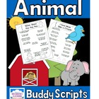 Animal Buddy Reading Scripts