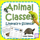 Animal Classes: A Literacy &amp; Science Cross-Curricular Unit