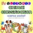 Animal Classification Activity Packet