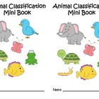 Animal Classification Mini Books