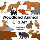 Animal Clip Art: Woodland Animals