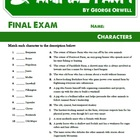 Animal Farm - Chapter Summaries, Tests, and Vocabulary