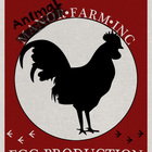 Animal Farm High Res 8.5x11 Egg Production Committee Poster