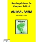 Animal Farm Quiz on Chapters 9-10