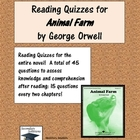 Animal Farm - Quizzes for Entire Novel