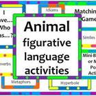 Animal Figurative Language-Idioms, Similes, Metaphors, & M
