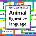 Animal Figurative Language-Idioms, Similes, Metaphors, &amp; M