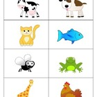 Animal Flash Cards - Spanish