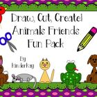 Animal Friends I Can Draw I Can Write Fun Pack