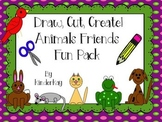 Draw Cut Create Animal Friends Fun Pack