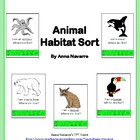 Animal Habitat Sort