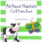 Animal Habitats Cut &amp; Paste Book