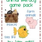 Animal Literacy Game Pack Bundle