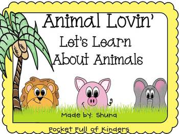 Animal Lovin Learning About Animals