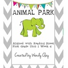 Animal Park First Grade Reading Street Supplemental Materials