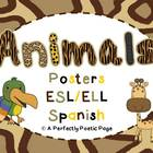 Animal Posters ~ ESL ~ SPANISH
