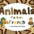 Animal Posters ~ French