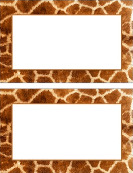 Animal Print Posters (portrait)