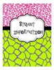 2013-2014 Animal Print Teacher Binder, Divider Pages, and More!