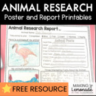 Animal Research Report Poster