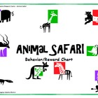 Animal Safari Behavior/Reward Chart