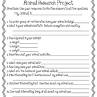 Animal Studies: Animal Research Project