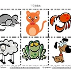 Animal Syllable Cards