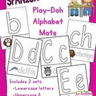 Animal Themed Alphabet Play-Doh Mats (Spanish)