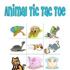 Animal Tic Tac Toe Games for Foreign Language and ESL Learners