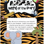 Animal Word of the Day