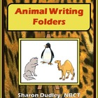 Animal Writing Folders