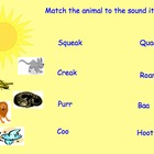 Animal sounds and rhyming pictures (Mice Squeak, We  Speak)