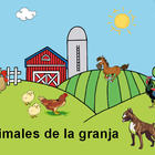 Animales de la granja for young kids