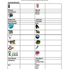 Animales y Ambiente: Vocab / Animales & Environment Vocab
