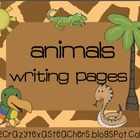 Animals Galore Writing Packet