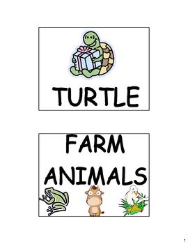 Animals (Los animales) Flash Cards (57) in Spanish and English!