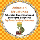 Animals &amp; Structures: Extension Questions for Creative Sci