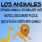 Animals Vocabulary Lists, Activities, Crossword, Games, an