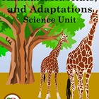 Animals and Adaptations COMPLETE UNIT (science, habitats,